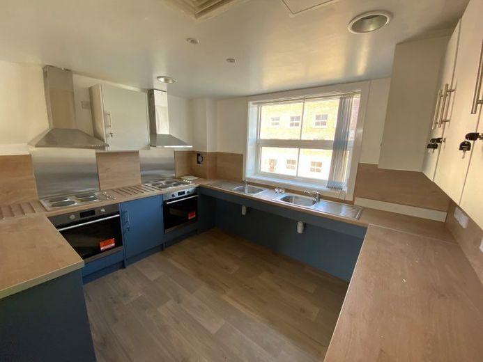 John Snow College Accommodation Kitchen