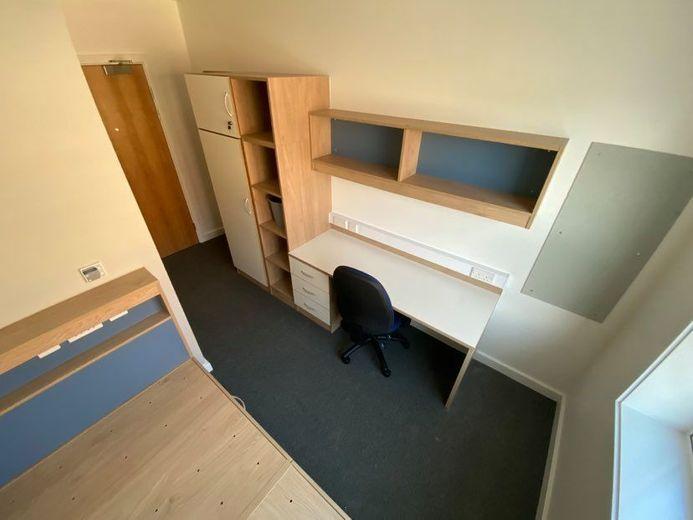 John Snow College Accommodation Room