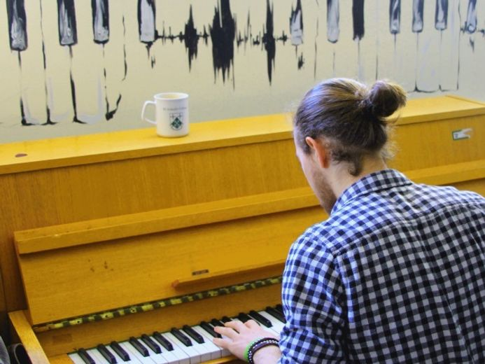 St Aidan's Music Room
