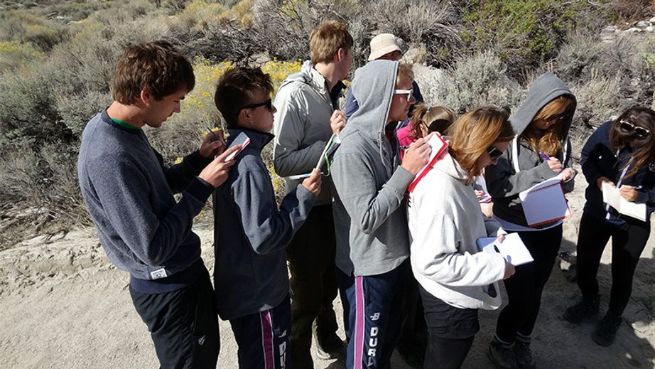 California Geography fieldtrip 2013