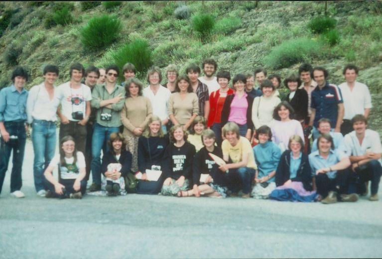 1980 Portugal Field trip with Jim Lewis - Image from Linda Drury