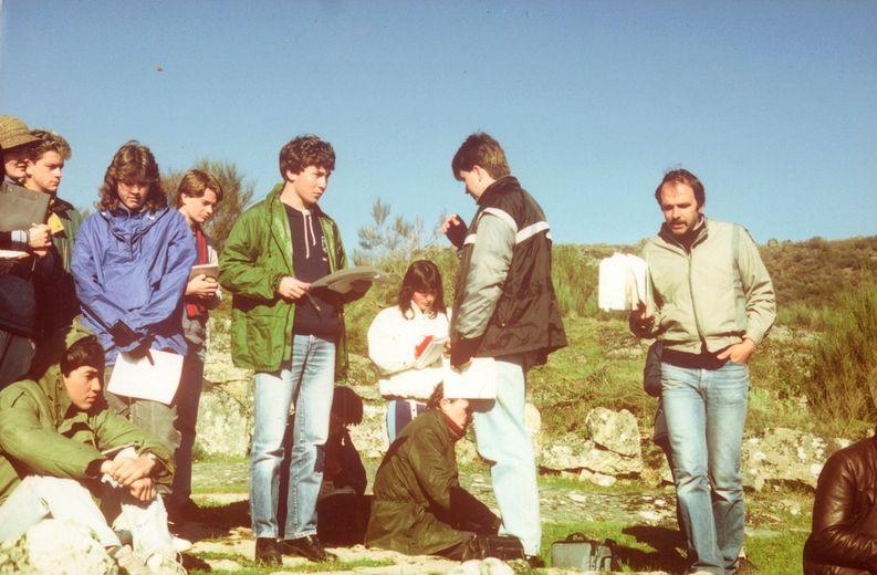 1986 Portugal Field trip - Jim Lewis Image from Linda Drury