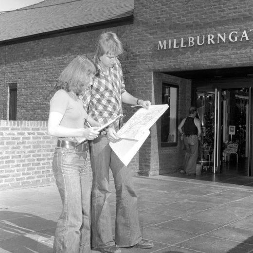 Fieldwork Millburngate 1980s