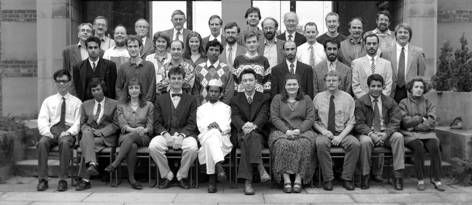 Geography Department Postgraduate Group Photo from 1993