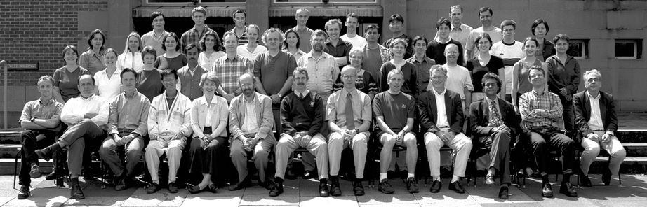 Geography Department Postgraduate Group Photo from 2000