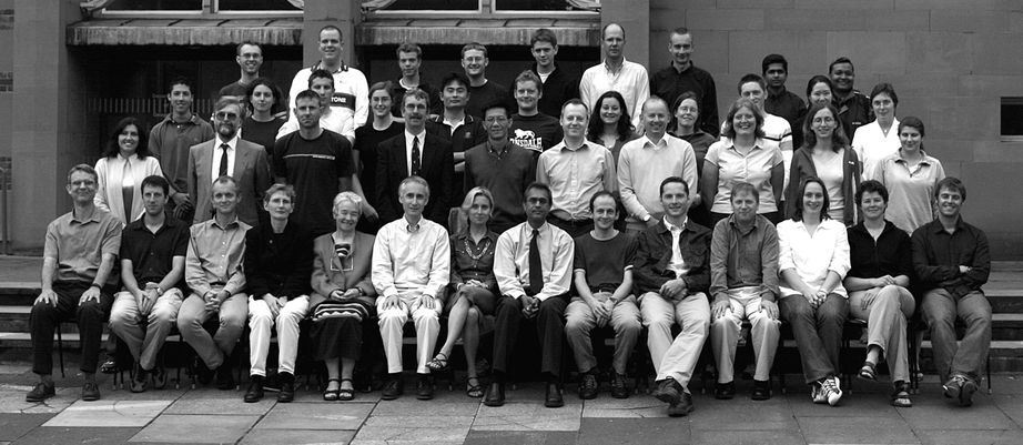 Geography Department Postgraduate Group Photo from 2003