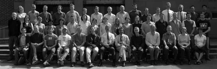 Geography Department Postgraduate Group Photo from 2004