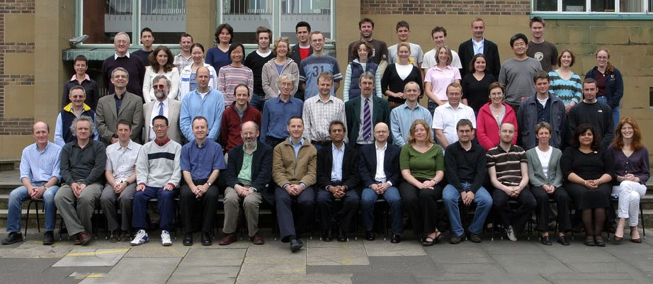 Geography Department Postgraduate Group Photo from 2005