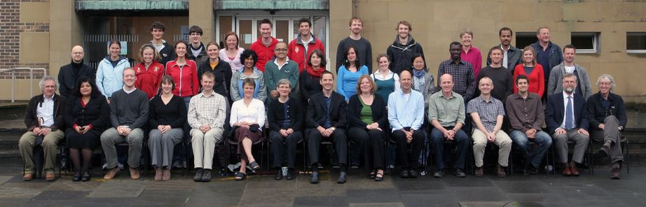Geography Department Postgraduate Group Photo from 2007