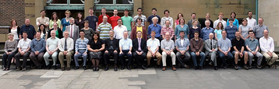 Geography Department Postgraduate Group Photo from 2008