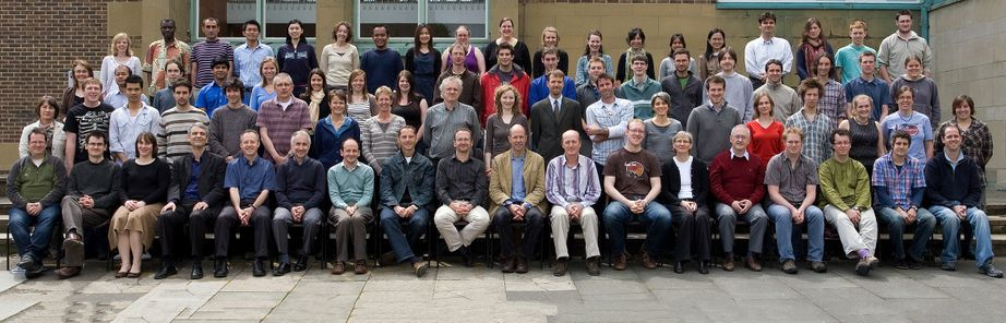 Geography Department Postgraduate Group Photo from 2009