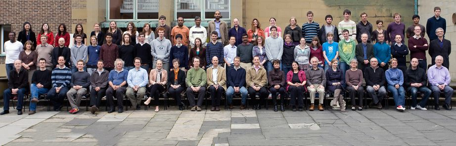 Geography Department Postgraduate Group Photo from 2010