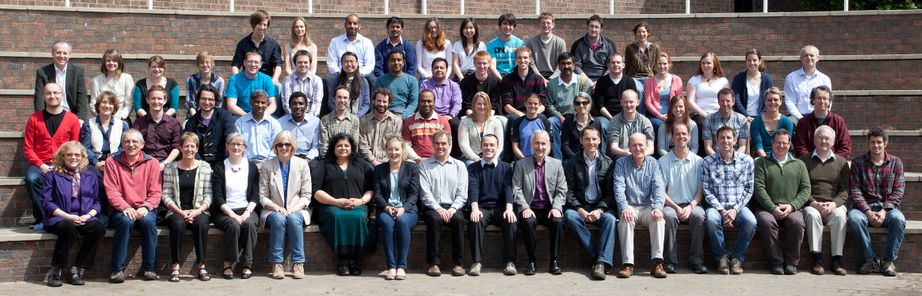 Geography Department Postgraduate Group Photo from 2011