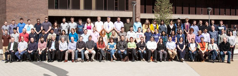 Geography Department Postgraduate Group Photo from 2014