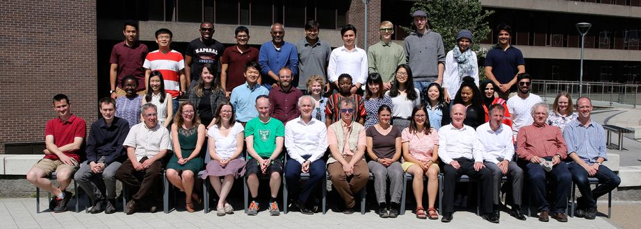 Geography Department Postgraduate Group Photo from 2018