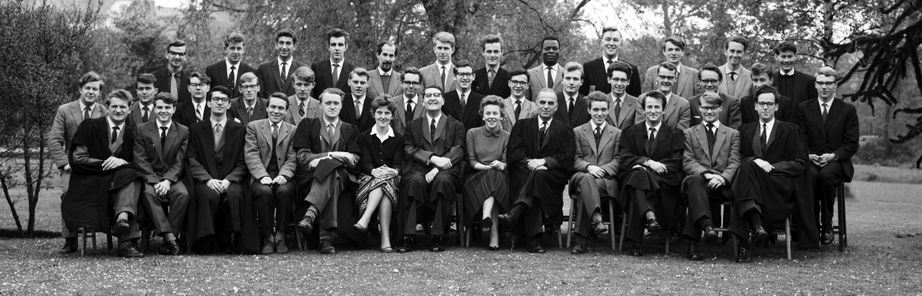 Geography Department Undergraduate Group photo from 1962