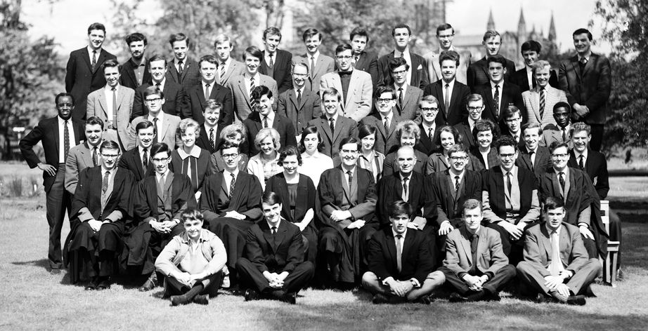 Geography Department Undergraduate Group photo from 1964