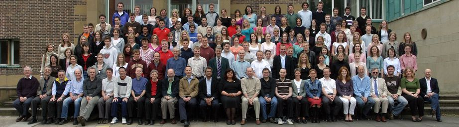 Geography Department Undergraduate Group photo from 2005