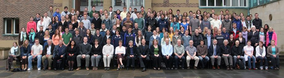 Geography Department Undergraduate Group photo from 2007