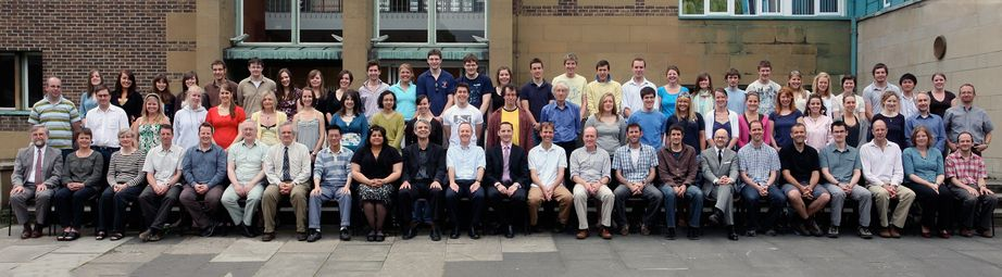 Geography Department Undergraduate Group photo from 2008