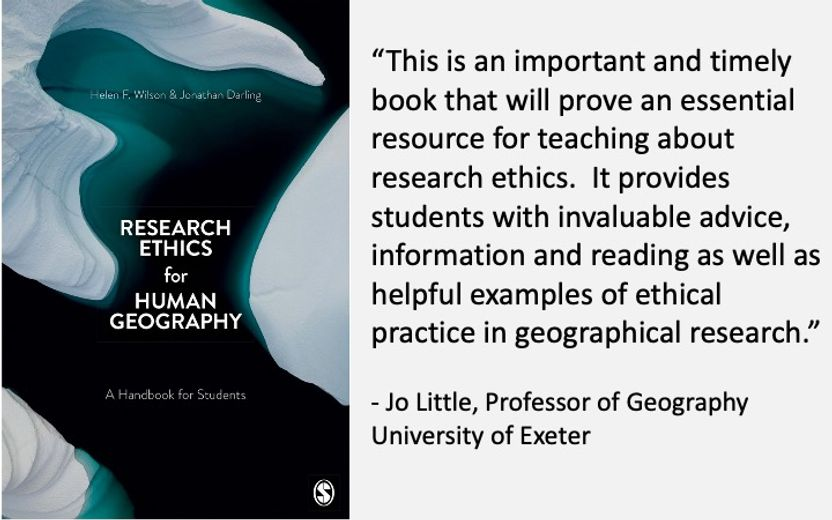 Research Ethics book by Darling and Wilson