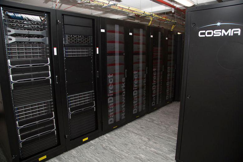 Cosma supercomputer storage