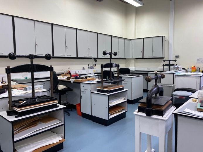 Conservation Studio at Palace Green Library