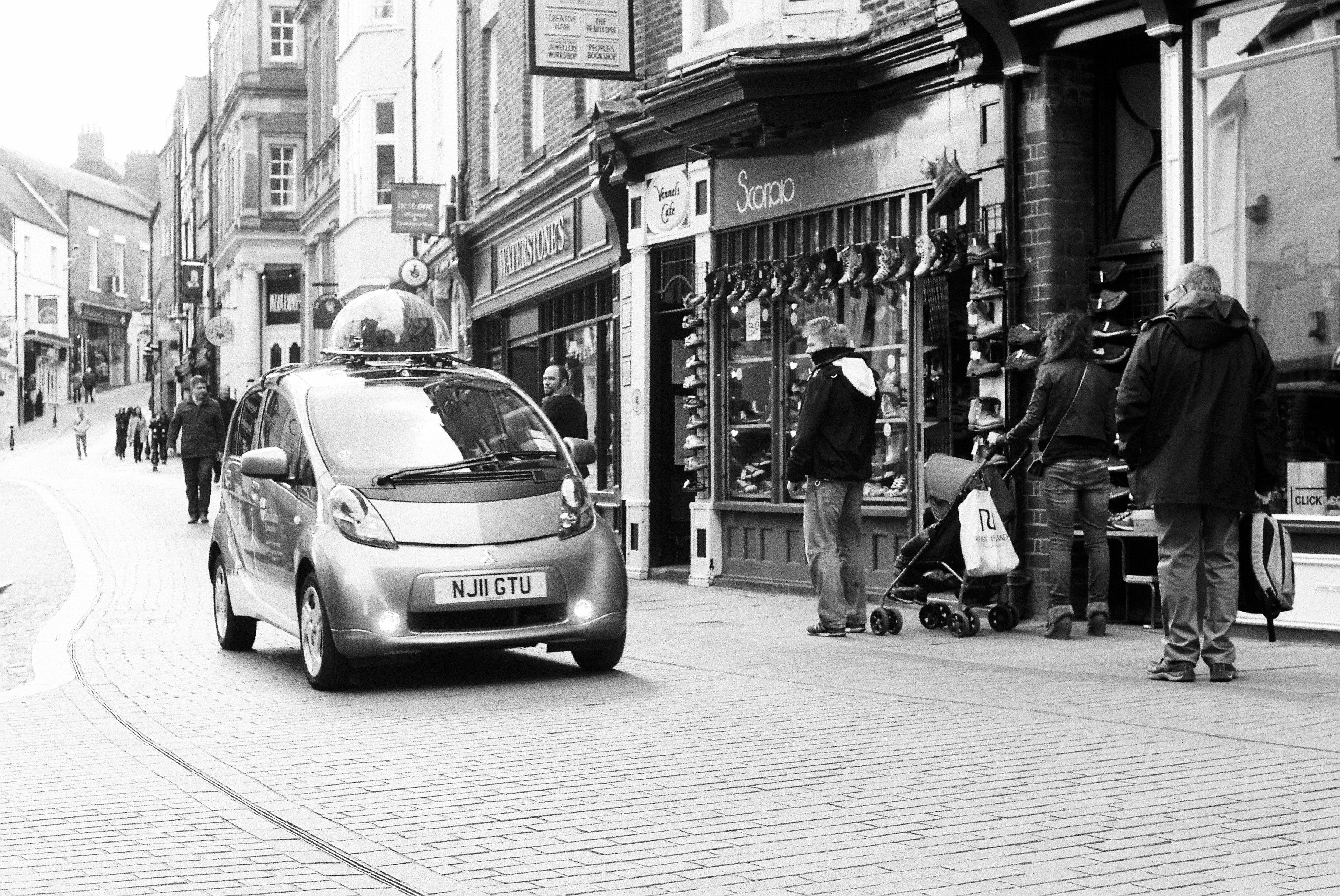 Twizzy Car in Durham City