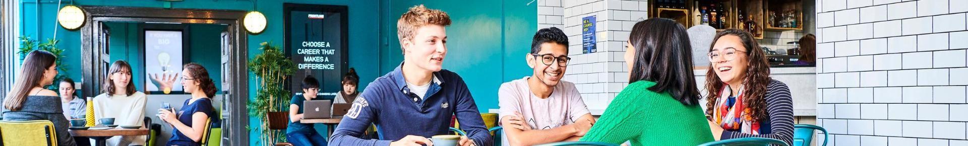 Students in Kingsgate Bar
