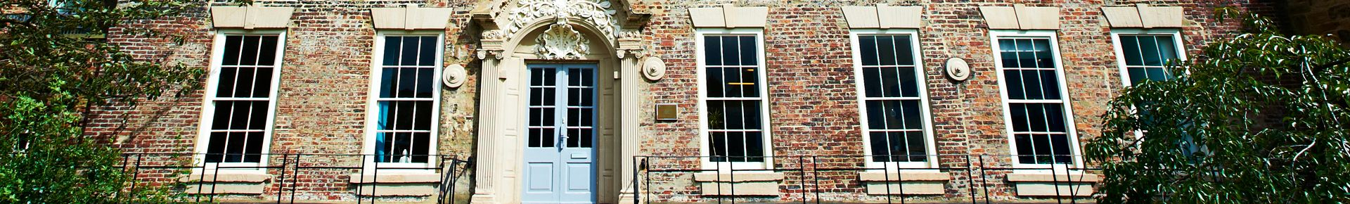 External shot of Institute of Advanced study at Cosin's Hall